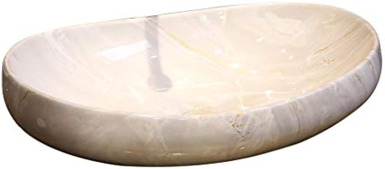 Waschbecken, Keramik, Weie Kurve über Zhler Becken Waschbecken Hohe Qualitt (Farbe   Single Basin)