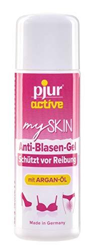 Pjuractive mySKIN - Gel de protection cutanée pour femme - Prévient les douleurs causées par les ampoules et les frottements - 30ml (Pack de 1)