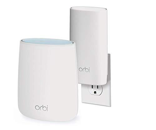 39% off NETGEAR Orbi Compact Wall-Plug Whole Home Mesh WiFi System - $122
