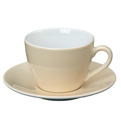 1x Kaffee-/Cappuccino-Tasse - Inhalt 0,21 ltr - Kaffeeservie, Kaffeebecher
