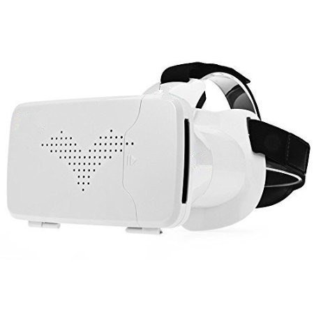 3D VR Headset Virtual Reality VR BOX 3d Movies and Games Viewer for iPhone 6/6 Plus,Android Samsung S6/S7/S6 edge/S7 edge,LG,Huawei, within 6.0' SmartPhone