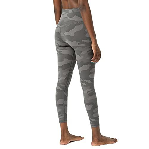 JNWBFC Leggings De Mujer Sensación Desnuda Pantalones De Yoga De Cintura Alta Pantalones De Camuflaje De Entrenamiento Fitness Levantamiento De Cadera