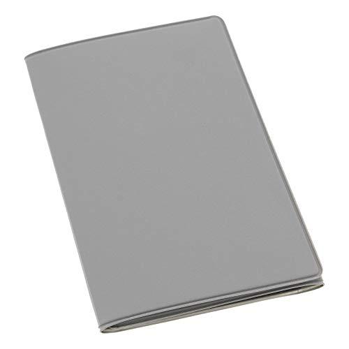 HABILL-AUTO Etui PVC Gomme pour Carte Grise (133x264 mm) Gris Clair