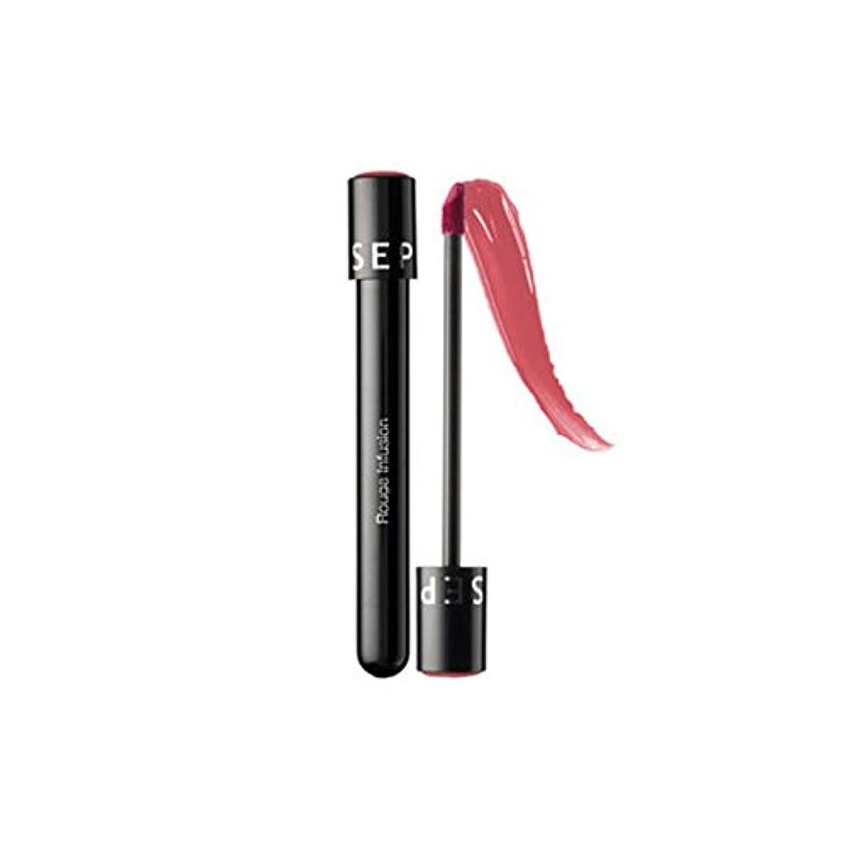 旋回制限ヘクタールSEPHORA COLLECTION ルージュリップステイン輸液- Peony, Rouge Infusion Lip Stain, 0.152 oz / 4.3g [並行輸入品] [海外直送品]