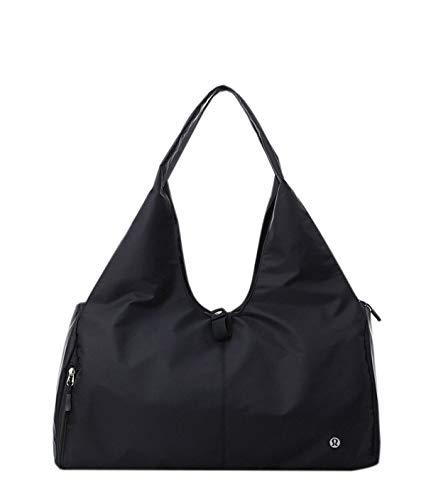 Haosen - Bolsa de deporte para yoga, bolsa de viaje, impermeable, 35 l, para hombres y mujeres, Negro (Negro) - WW-44