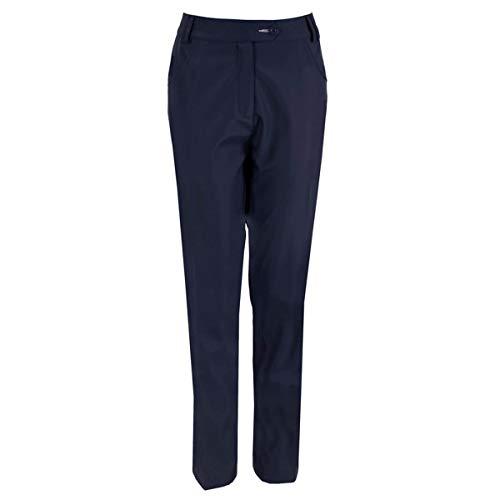 Island Green Pantalones de Golf hasta el Tobillo para Mujer, Mujer, Pantalón, IGLPNT1976_DKNVY_18, Azul Marino, 46