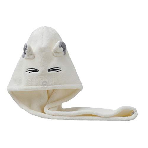 ZAIZAI Toalla De Baño De Microfibra Gruesa De Secado Rápido Súper Absorbente De Baño para Mujer (Color : White)