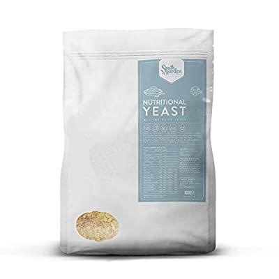 Nutritional Yeast Flakes High D Vitamin 1 Kg | SOUTH GARDEN | All B and D Vitamins | 47% Protein | Vegan | Gluten Free | Dairy Free | No added Sugar