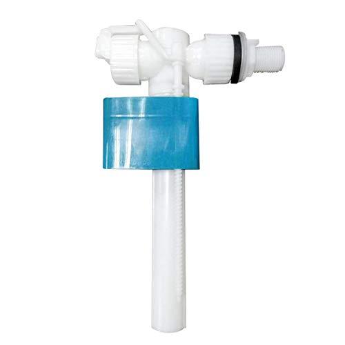 Gelentea Seiteneingang WC Einlassventil Spülkasten Armaturen G1/2 Verstellbare Schwimmerventil Badarmatur Ersatzteile Einlassventil für Rohre mit 4 Punkten