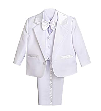 CALDORE USA Baby Boy Christening Outfit Shorts Set with Weaved Stripe Vest