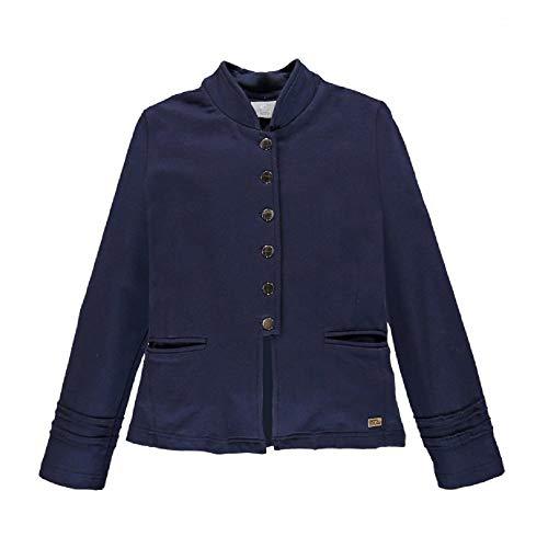 Mek Mek Blazer Sweatshirt Stretch Ragazza, 183MIAT001, Blau 12 Jahre