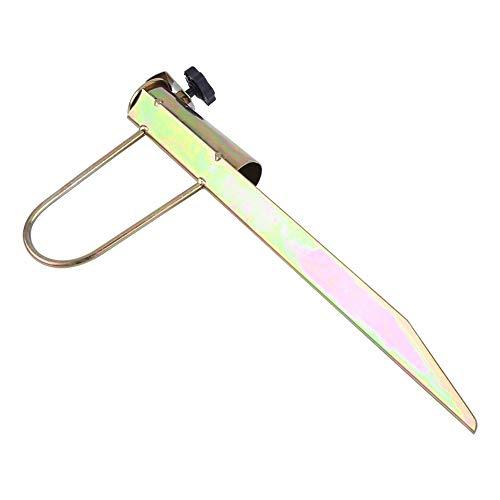 Wolfgo Umbrella Holder-1Pc Iron Sun Beach Portaombrelli da Pesca Sand Parasol Archor Garden Outdoor Travel