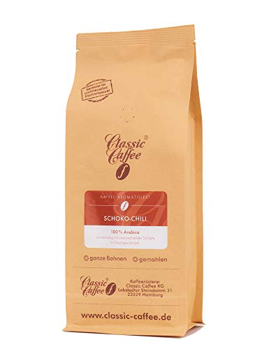 Aromatisierter Kaffee - Schoko-Chili - 500g - Gemahlen