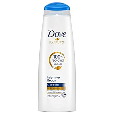Dove Nutritive Solutions Strengthening Shampoo for Damaged Hair Intensive Repair Dry Hair Shampoo With Keratin Actives 12 oz