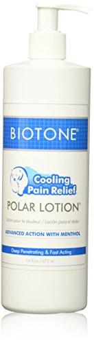 Biotone Polar Lotion Massage Lotion, 16 Ounce