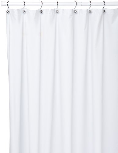 Carnation Home Fashions Duschvorhang, Vinyl, 183 x 274 cm 72-inch by 108-inch farblos