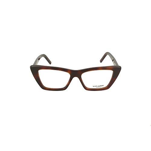 Saint Laurent Occhiale da Vista SL 291 003 havana montatura plastica taglia 51 mm occhiale uomo