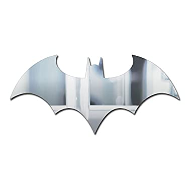 Batman Logo Mirror Measuring 70 cm (27.5 in) x 33 cm (13 in)