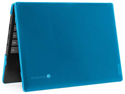 mCover Hard Shell Case for 2020 11.6' Lenovo IdeaPad Chromebook 3i (11) Laptop (Not Fit IdeaPad Flex 3 11.6' Chromebook) Aqua