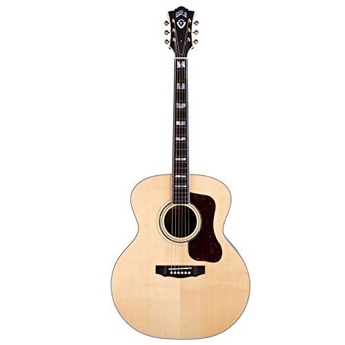 Guild USA F-55 esdoorn akoestische gitaar, natuurlijk
