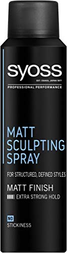 Syoss Matt Sculpting Spray, für definierte Styles mit mattem Finish, 6er Pack (6 x 150 ml)