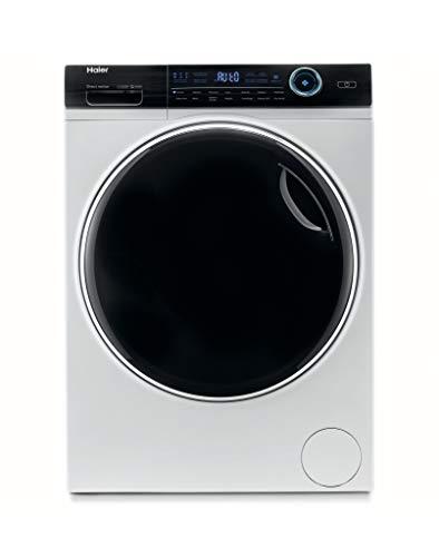 Haier HW100-B14979 Serie I-Pro 7, Lavatrice 10 Kg a Carica Frontale, 1400 Giri, Tecnologia micro vapore I-Refresh, Trattamento Antibatterico, Libera Installazione, 59.5 * 53 * 85 cm, Bianco, Classe A