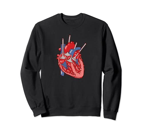 Corazón de la válvula del motor Sudadera