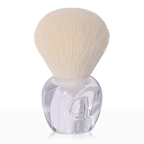 ABUKY Professionelles Make-up-Pinsel-Set, synthetische Kosmetika, Grundierung, Puder, Concealer, Blending Lidschatten, Gesichtsmake-up-Pinsel (weiß, 1 Stück)