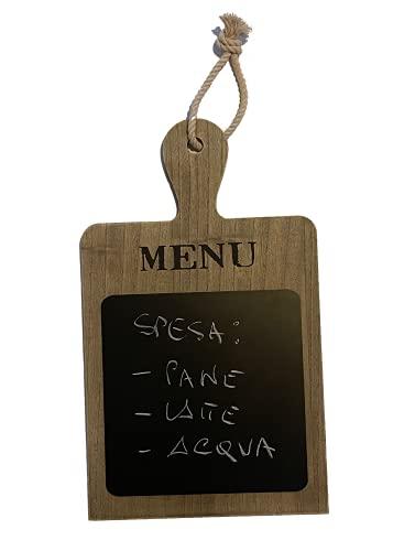 Lavagnetta da cucina, lavagnetta menu, lavagnetta cancellabile, lavagna cucina da appendere, shabby_chic, vassoio aperitivo. Un gessetto incluso per scrivere subito i vostri messaggi!!