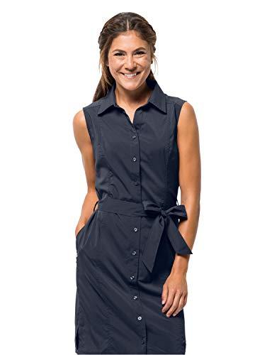 Jack Wolfskin Damen Kleid Sonora Dress, Midnight Blue, S, 1503991-1910002