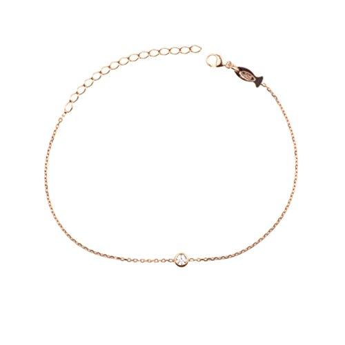 Kurshuni Armband Glint mini Roségold