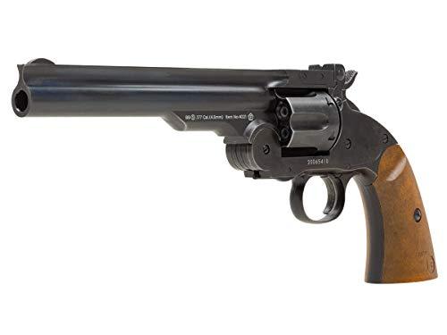 Barra Schofield No.3 Aged CO2 BB Revolver, 7' air Pistol