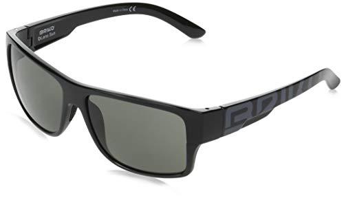 Briko Patriot Gafas Sol Casual, Unisex Adulto, SH Black, One