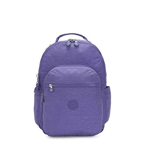 Kipling Seoul Laptop-Rucksack für Damen, Violett (Violett / Eggplant Purple), Einheitsgröße