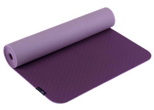 Yogistar Pro Tapis de Yoga Mixte, Aubergine, 183
