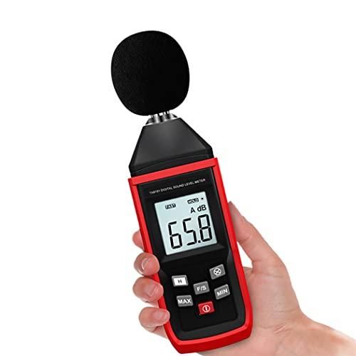OBEST デジタル騒音計 ノイズ測定器 デジタルサウンドレベルメーター 手軽に音圧測定 騒音レベル測定 騒音計 マイク 30-130db 現在/平均値 最大/最小値保持 自動LCDバックライト付き 電池付属
