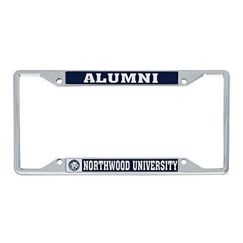 Desert Cactus Northwood University Timberwolves NCAA Metal License Plate Frame for Front or Back of Car Officially Licensed (Alumni)