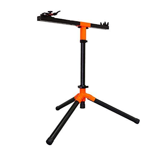 Soporte De Reparación De Bicicletas Bicicleta soporte de reparación - Mecánica de la bicicleta plegable de reparación Soporte de trabajo Mantenimiento Altura del rack vivienda usada ajustable for la m