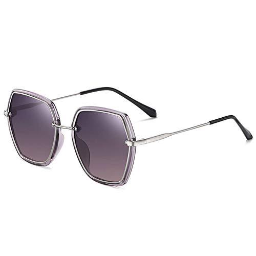 Gafas de sol polarizadas, versión coreana, protección UV, al aire libre, para mujeres, resistente a los arañazos, para conducir, pescar y nadar