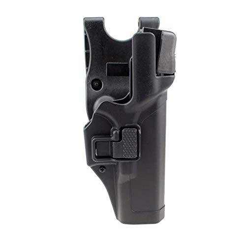 GY Funda táctica, Glock Militar Funda Tactical Glcok Cinturón Pistola Funda para Glock 17 19 22 23 32 32 Bronceado Bronce (Color : A)