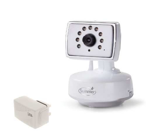 Summer - Set Videocamera e adattatore supplementare per video monitor digitale Baby Zoom 20021U
