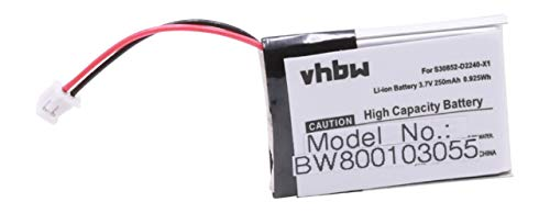 Batería Li-Ion 250mAh 3.6V para Siemens Gigaset L410, L470, es un Recambio de S30852-D2240-X1, V30145-K1310-X448