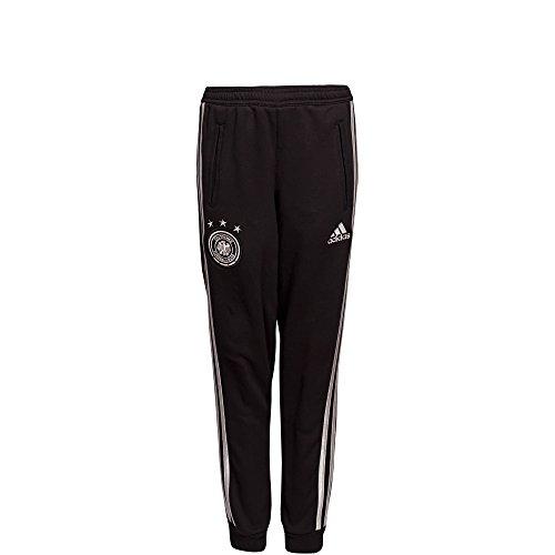 adidas DFB Entrenamiento pantalones WM 2014niños, niña niño, negro/plateado, 164