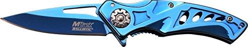 MTech USA Taschenmesser,  Blau Titan beschichtete Klinge, MT-A917BL