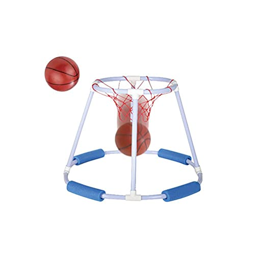 Aros flotantes de juego de agua, aro de baloncesto multicolor, juego de aro de baloncesto de natación, juego de aro de baloncesto de piscina, juguetes de agua para niños adultos
