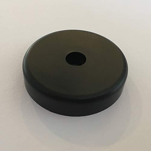 Analogis Single-Puck PS-45 R, rund, Kunststoff, schwarz (6110)