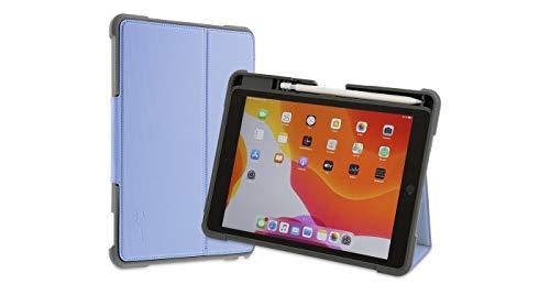 ArmorCase para iPad de 10,2 Pulgadas (2019/20), 7/8th Gen, a Prueba de Golpes, Soporte con Parte Superior Desmontable con lengüeta magnética, función de Reposo y activación, Color Azul