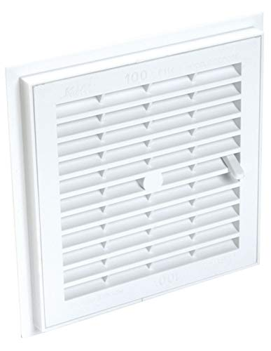 Nicoll - Grille d aeration a sceller a fermeture carree 1f164