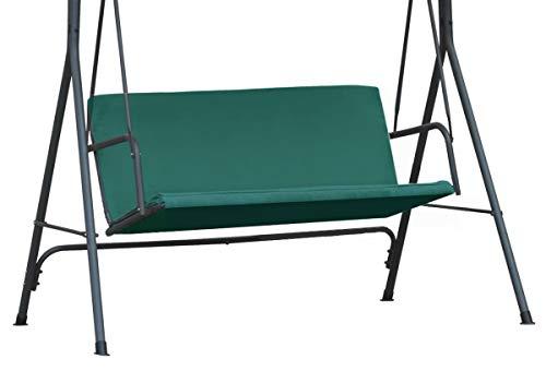 Copertura Universale per i sedili da Giardino Ricambio Ricambi coprendo sedili Copertura Superiore baldacchino Dimensione 100 x 138 cm Verde [101]