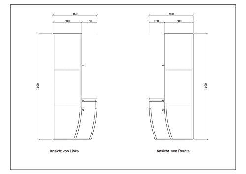 Atlantis Badmöbel Set Komplett Weiß Bild 5*